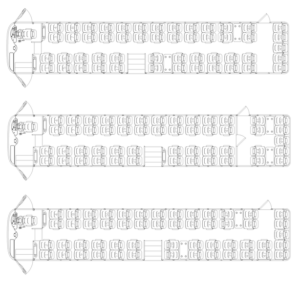 L-Bus seating plan