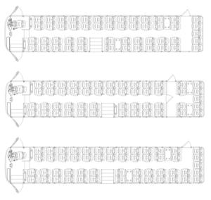 L-Bus seating plan